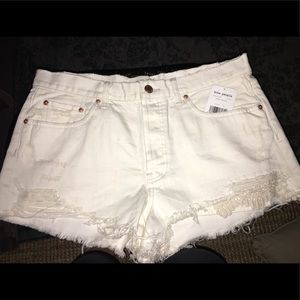 WOMENS FREE PEOPLE NEW W/ TAGS SHORTS SIZE 31/10